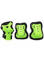 Защита детская для роликов, скейта, велосипеда, самоката SportVida SV-KY0001-M размер M Black/Green