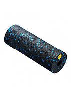 Массажный ролик (валик, роллер) 4FIZJO Mini Foam Roller 15 x 5.3 см 4FJ0035 Black/Blue для йоги