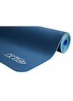Коврик (мат) для йоги и фитнеса 4FIZJO TPE 6 мм 4FJ0033 синий. Коврик для спорта, каремат