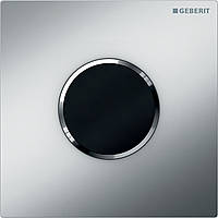Система электронного управления смывом писсуара Geberit питание от батарей крышка тип 10 хром матовый и