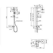 Душевая система Qtap SIL 1104, фото 2