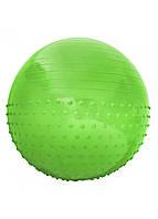 Мяч для фитнеса (фитбол) полумассажный SportVida 55 см Anti-Burst SV-HK0291 зеленый