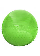 Мяч для фитнеса (фитбол) полумассажный SportVida 65 см Anti-Burst SV-HK0293 зеленый
