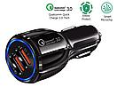 Авто ЗУ Adaptive Fast Charging 2-USB 3,1A (black), фото 5