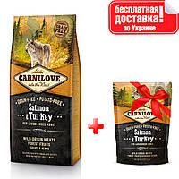 Сухой корм для взрослых собак крупных пород Carnilove Salmon & Turkey Large Breed 12 кг