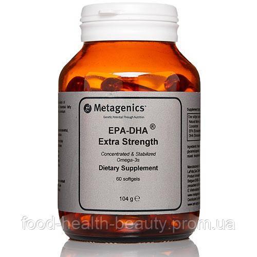EPA-DHA® Extra Strenght (Омега-3 жирні кислоти) 60 капсул