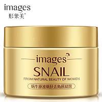 Пилинг-скатка для лица с фильтратом слизи улитки Images Snail From Natural Beauty of Woman, 140г, фото 1