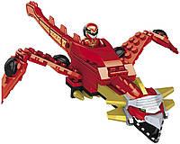 Детский Обучающий Игровой Конструктор для мальчиков Зорд Дракон 80 деталей Mega Bloks Power Rangers Megaforce