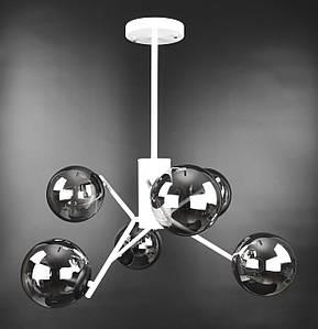 Люстра потолочная на 6 лампочек 2005/6 Белый 70х63х63 см.