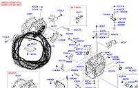 Фильтр автоматической коробки переключения передач Hyundai
