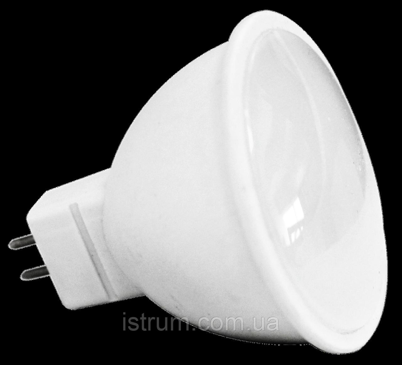 Лампа светодиодная 5.5W MR16 (3000К, 4000K) 500Lm 120° 220V, Numina