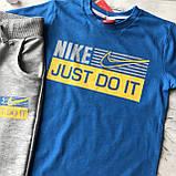 Літній костюм в стилі Nike на хлопчика 27. Розмір 110 см, 128 см, 152 см, фото 2