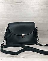 Женская молодежная сумка Welassie Софи Зеленая (65-56308)