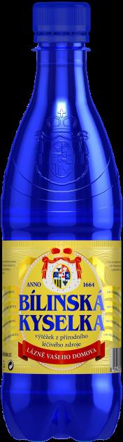 Бутылка лечебной минеральной воды Билинска Киселка (BILINSKA KYSELKA) BHMW 0.5 л