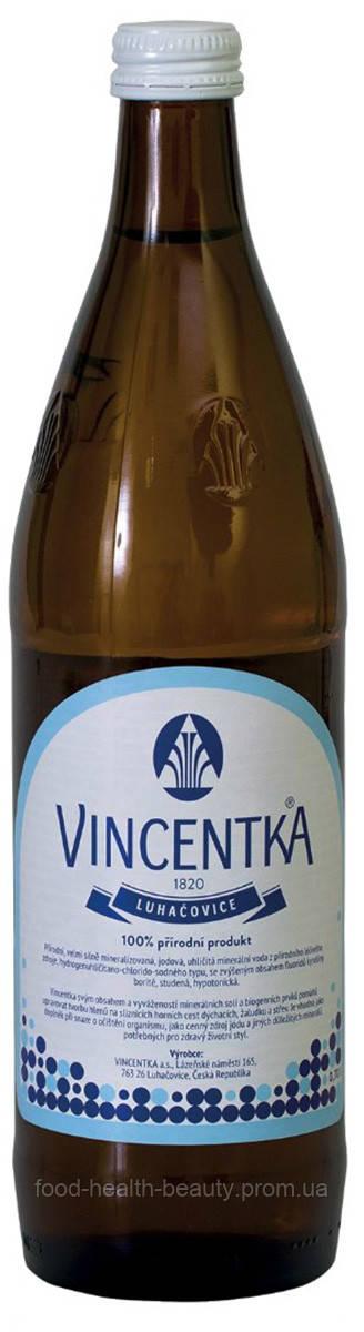 Вода минеральная Vincentka 0,7 л