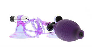 Стимуляторы на соски Hi-Beam Vibrating Nipple Pumps Lavender