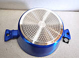 Кастрюля Meisterklasse MK-1045-20 blue 20 см 2,1 л, фото 6