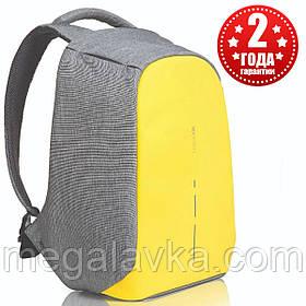 """Рюкзак міський протикрадій XD Design Bobby Compact 14"""", Primrose Yellow P705.536"""