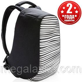 """Рюкзак міський протикрадій XD Design Bobby Compact 14"""" Zebra P705.651"""