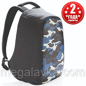 "Рюкзак протикрадій міської XD Design Bobby Compact 14"", Camouflage Blue (P705.655)"