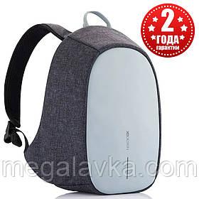 """Рюкзак міський із тривожною кнопкою протикрадій XD Design Bobby Cathy Backpack 9,7"""" Blue P705.215"""