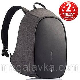 """Рюкзак міський із тривожною кнопкою протикрадій XD Design Bobby Cathy Backpack Black 9,7"""" P705.211"""