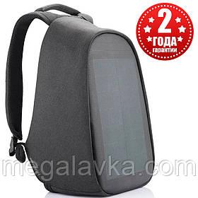 """Рюкзак міський із сонячною панеллю протикрадій XD Design Bobby Tech 15,6"""" чорний P705.251"""