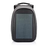 """Рюкзак міський із сонячною панеллю протикрадій XD Design Bobby Tech 15,6"""" чорний P705.251, фото 2"""