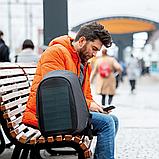 """Рюкзак міський із сонячною панеллю протикрадій XD Design Bobby Tech 15,6"""" чорний P705.251, фото 10"""