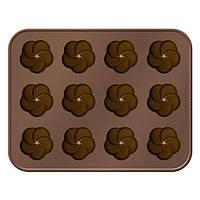 Форма для шоколадных конфет Tescoma Delicia Choco цветочки