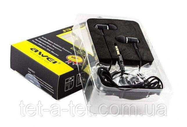 Наушники Awei ES-Q3 Black