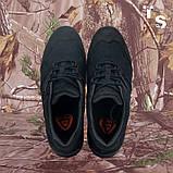 Кросівки Мустанг чорні нубук 3D-сітка Airmesh, фото 5