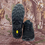 Кросівки Мустанг чорні нубук 3D-сітка Airmesh, фото 3