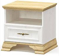 Тумба прикроватная Мебель Сервис 1Ш Ирис 2 шт Андерсон пайн Дуб золотой (3253)