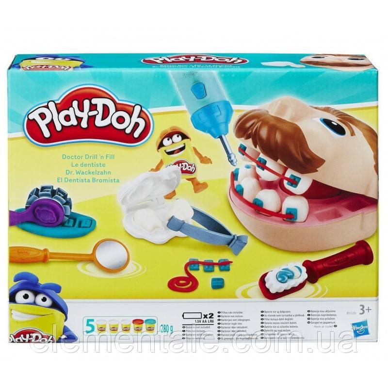 Игровой набор Play Doh Мистер зубастик
