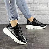 Жіночі кросівки Fashion Vince 1679 36 розмір 22 см Чорний, фото 3