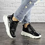 Жіночі кросівки Fashion Vince 1679 36 розмір 22 см Чорний, фото 4