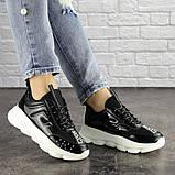 Жіночі кросівки Fashion Vince 1679 36 розмір 22 см Чорний, фото 6