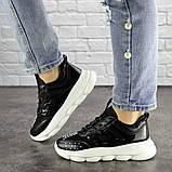 Жіночі кросівки Fashion Vince 1679 36 розмір 22 см Чорний, фото 7