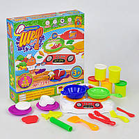 Набор с тестом для лепки Fun Game Маленький Шеф кухар