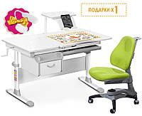 Парта трансформер и ергономическое кресло, (подставка для книг и настольная лампа) разные цвета, фото 1