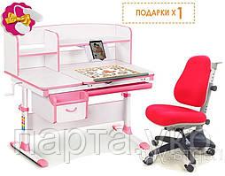 Парта трансформер  Evo-kids EVO-50 и детское кресло Match Comf-Pro, Тайвань