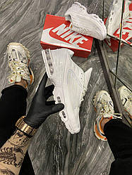 Мужские кроссовки Air Max Plus 3 White (белые)