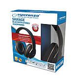 Беспроводные стерео наушники Esperanza SHANGE EH220 (Bluetooth 5.0,200 мАч), фото 4