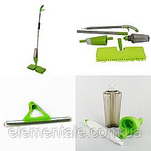 Швабра Healthy spray mop с распылителем и насадкой для мытья окон