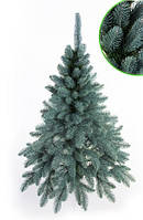 Искусственная новогодняя Ёлка 150см ( ель ) 1.5м литая Президентская голубая