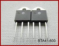 Симистор BTA41, 600V, 40A.
