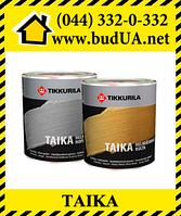 Перламутровая краска Тайка  Tikkurila, 0.9 л (серебро)