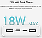 Портативная батарея (Power Bank) Xiaomi Xiaomi Mi 3 20000mAh White, фото 2