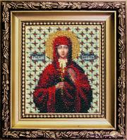 """Набор для вышивки бисером Чарівна мить """" Икона святая мученица Валентина"""""""